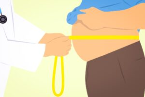Increased body fat can be a sign of low testosterone